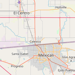 Map of Mexicali