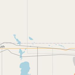 Map of Saskatoon