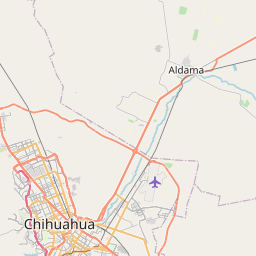 Map of Chihuahua