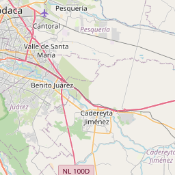 Map of Monterrey