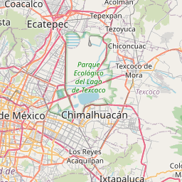 Map of Iztapalapa
