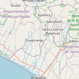 Map of Acajutla