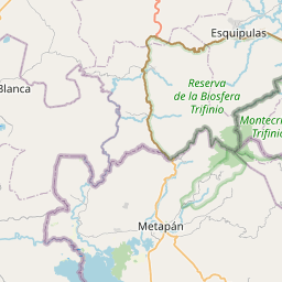 Map of Chiquimula