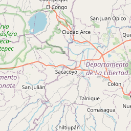 Map of Cuscatancingo
