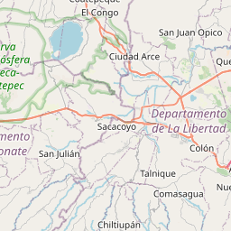Map of Soyapango