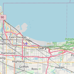 Map of Chicago-Naperville-Joliet