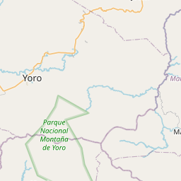 Map of Yoro