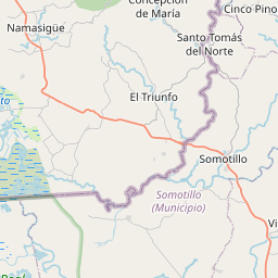 Map of Chichigalpa