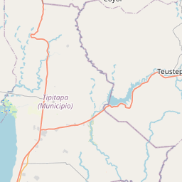 Map of Tipitapa