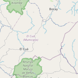 Map of Matagalpa