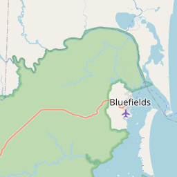 Map of Bluefields
