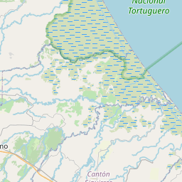 Map of Turrialba