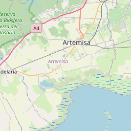 Map of Arroyo