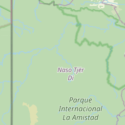 Map of Changuinola