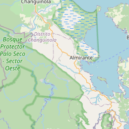 Map of Bocas