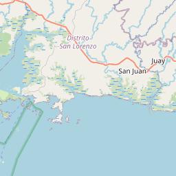 Map of Pedregal