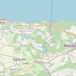 Map of Matanzas