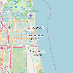 Map of Jacksonville