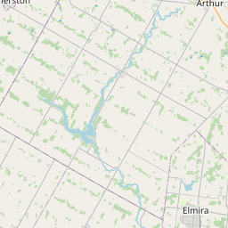 Map of Kitchener