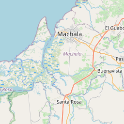Map of Machala