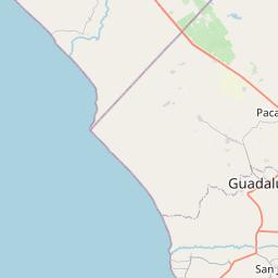 Map of Chiclayo