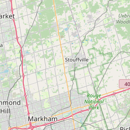 Map of Etobicoke