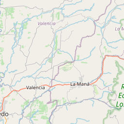Map of Velasco