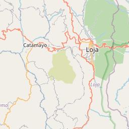 Map of Loja