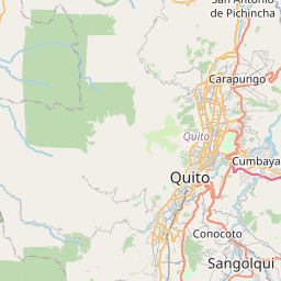 Map of Quito