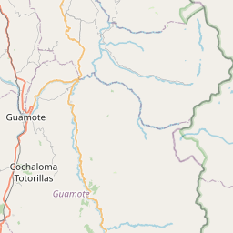 Map of Riobamba