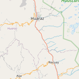 Map of Huaraz