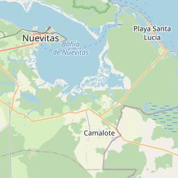 Map of Las
