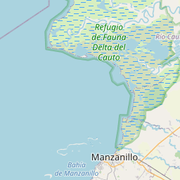 Map of Bayamo