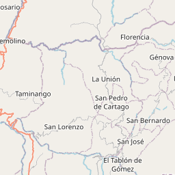 Map of Pasto