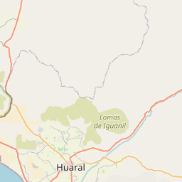 Map of Huaral