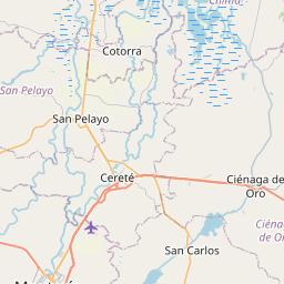 Map of Sincelejo