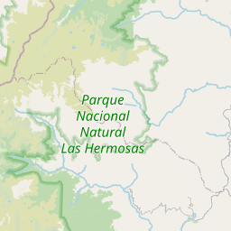 Map of Costarica