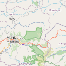 Map of Manizales