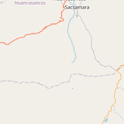 Map of Ayacucho