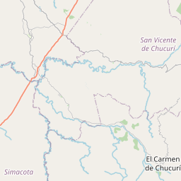Map of Barrancabermeja