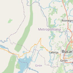 Map of Bucaramanga