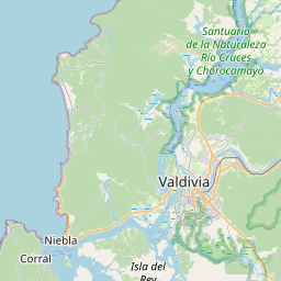 Map of Valdivia