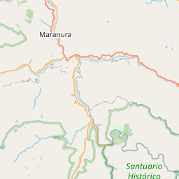 Map of Cusco