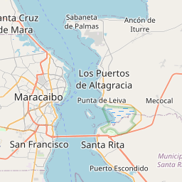 Map of Maracaibo
