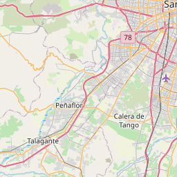 Map of Santiago