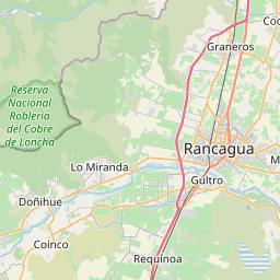 Map of Rancagua