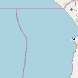Map of Arica