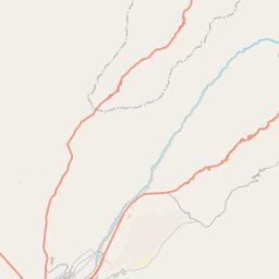 Map of Tacna