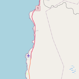 Map of Iquique