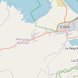 Map of Coro